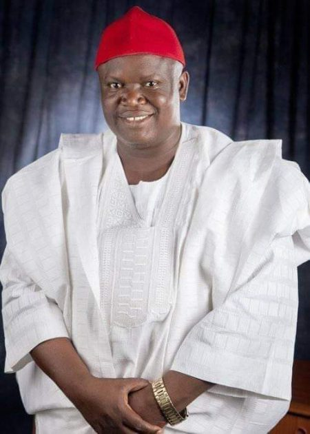 Gov. Ishaku Commiserates with the Family of Late Hon. Alexander Markus Senlo