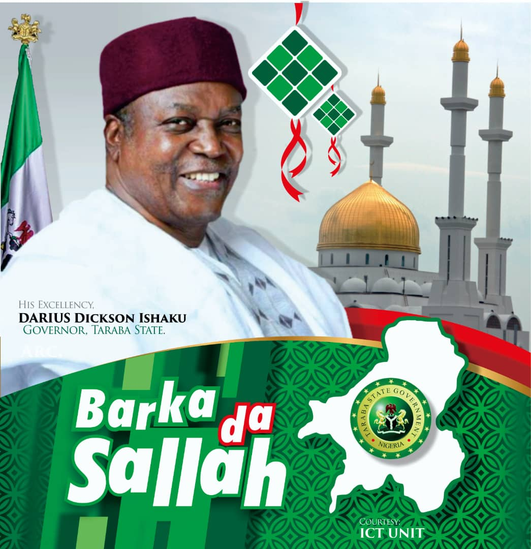 Eid-el-Fitr: Gov. Ishaku Solicits Prayers Against COVID-19