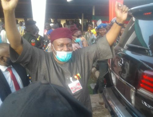 What the People of Takum Did About Gov. Ishaku's Home Coming will Shock You.