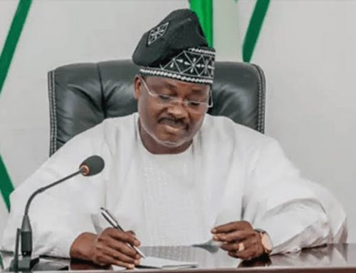 GOV ISHAKU CONDOLES WITH THE GOVERNMENT AND PEOPLE OF OYO STATE ON THE DEATH OF FORMER GOV. AJIMOBI