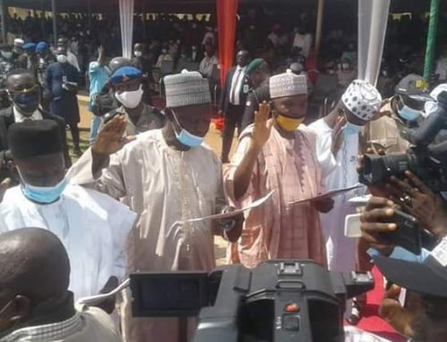 Gov. Ishaku Swears in 16 Newly Elected LG Chairmen