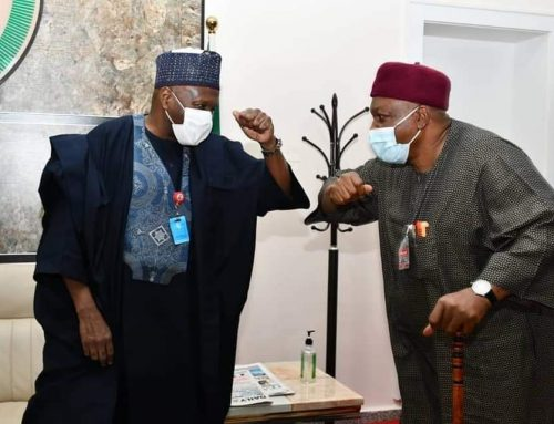 Gov. Ishaku, Other North East  Governors Hold Closed Door Meeting with President Buhari